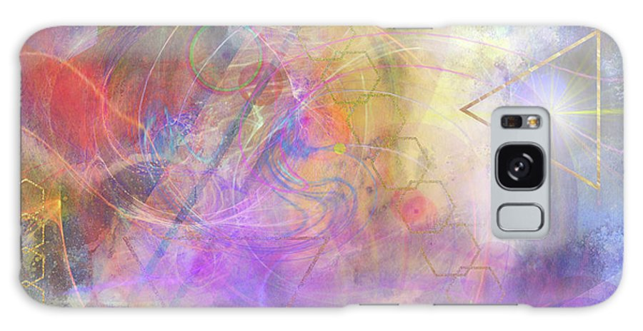 Morning Star Galaxy Case featuring the digital art Morning Star by John Beck