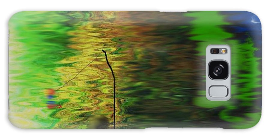 Water Galaxy S8 Case featuring the digital art Morning.fishing by Dr Loifer Vladimir