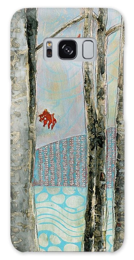 Mixed Media Galaxy S8 Case featuring the painting Mosquito Creek by Sandrine Pelissier