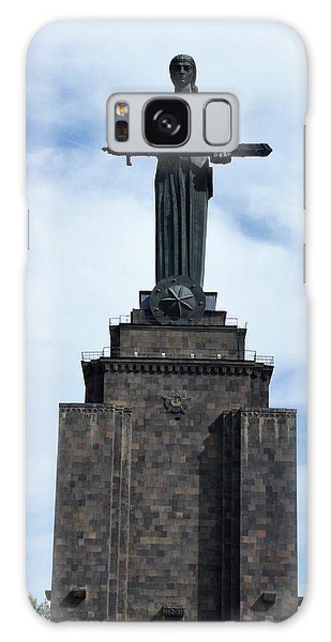 Mother Armenia Galaxy S8 Case featuring the photograph Mother Armenia by Giro Tavitian