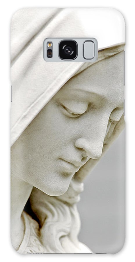 Statue Galaxy S8 Case featuring the photograph Mother Mary Comes To Me... by Greg Fortier
