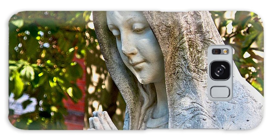 Mother Mary Galaxy S8 Case featuring the photograph Mother Mary by Donna Shahan