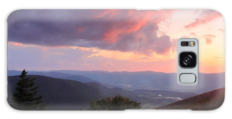Berkshires Galaxy S8 Case featuring the photograph Mount Greylock Sunset by John Burk