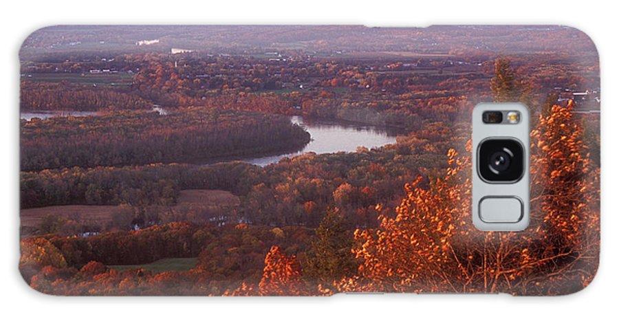 Mount Holyoke Galaxy S8 Case featuring the photograph Mount Holyoke Foliage by John Burk