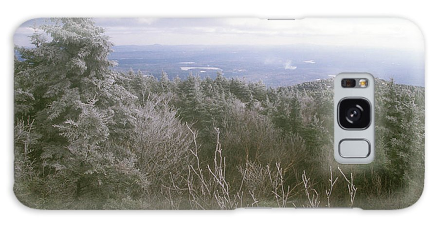 New Hampshire Galaxy S8 Case featuring the photograph Mount Monadnock Ice Storm by John Burk