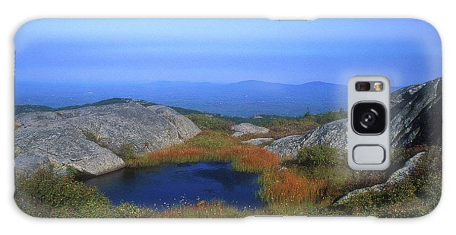 New Hampshire Galaxy S8 Case featuring the photograph Mount Monadnock Summit Pond by John Burk