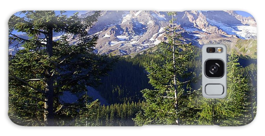 Mount Raineer Galaxy S8 Case featuring the photograph Mount Raineer 1 by Marty Koch