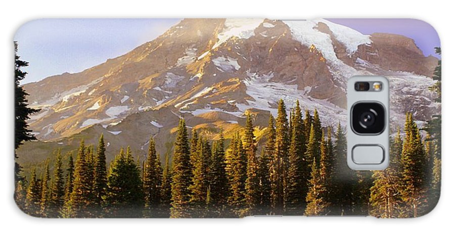 Mt. Raineer Galaxy S8 Case featuring the photograph Mount Raineer 2 by Marty Koch