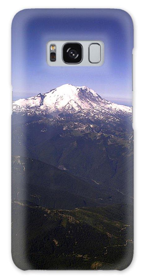 Mount Rainier Galaxy Case featuring the photograph Mount Rainier Washington State by Merja Waters