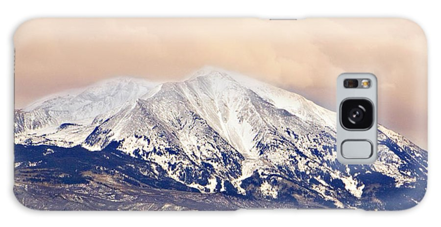 Americana Galaxy S8 Case featuring the photograph Mount Sopris by Marilyn Hunt