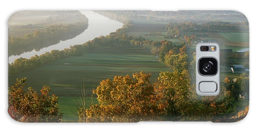 Mount Sugarloaf Galaxy S8 Case featuring the photograph Mount Sugarloaf Autumn Morning by John Burk