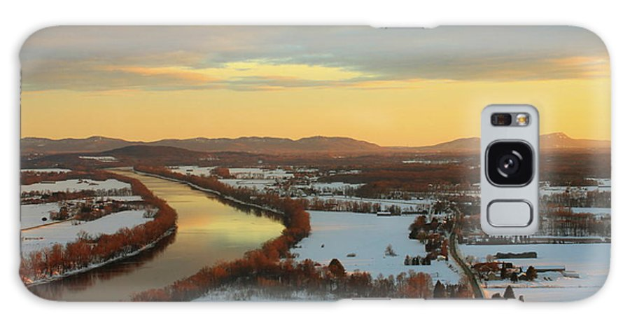 Mount Sugarloaf Galaxy S8 Case featuring the photograph Mount Sugarloaf Winter Sunset by John Burk