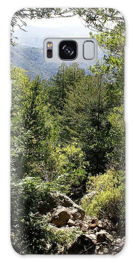 Mount Tamalpais Galaxy S8 Case featuring the photograph Mount Tamalpais Forest View by Ben Upham III