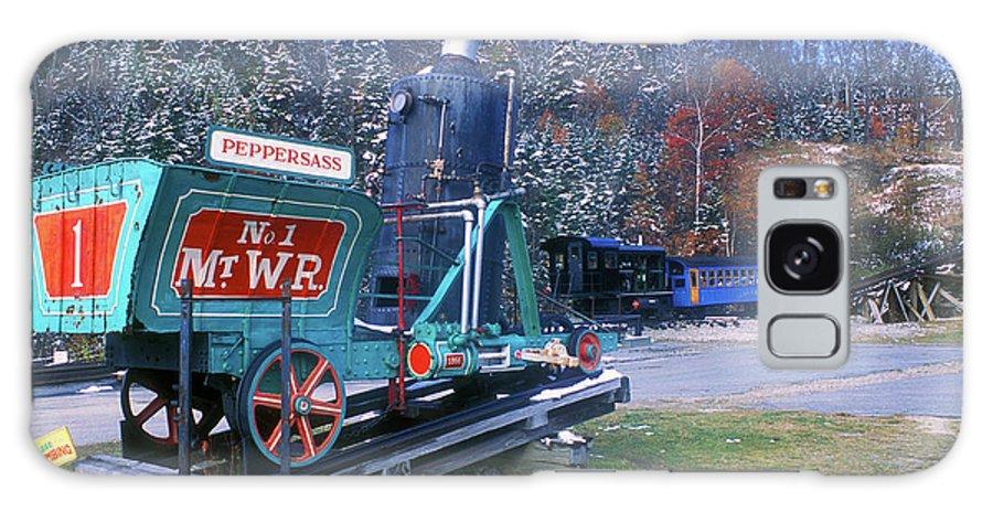 Mount Washington Galaxy S8 Case featuring the photograph Mount Washington Cog Railway by John Burk