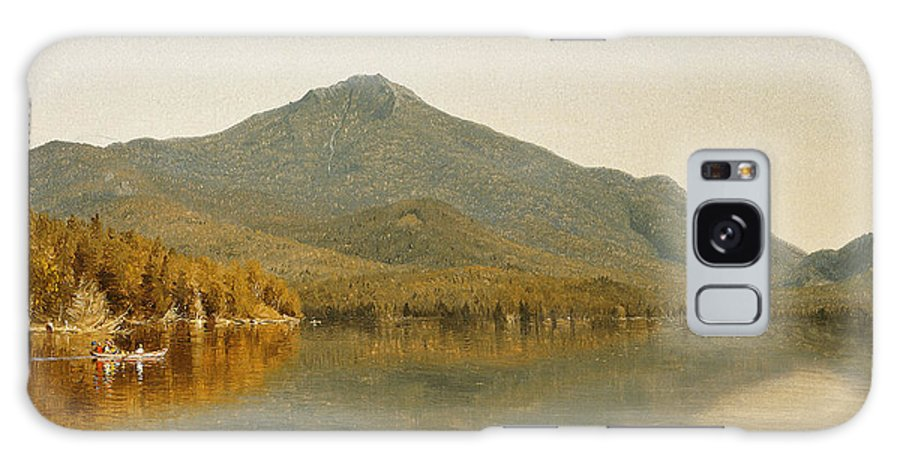 Sanford Robinson Gifford Galaxy S8 Case featuring the painting Mount Whiteface From Lake Placid by Sanford Robinson Gifford