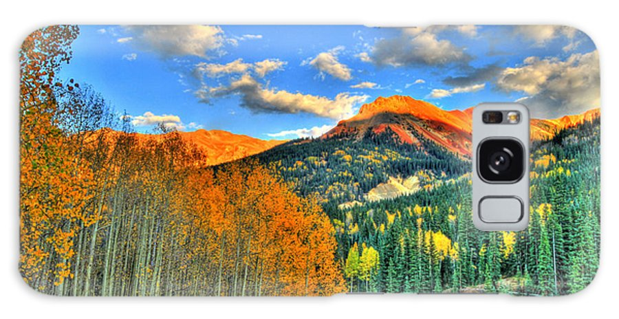 Mountain Galaxy S8 Case featuring the photograph Mountain Beauty Of Fall by Scott Mahon