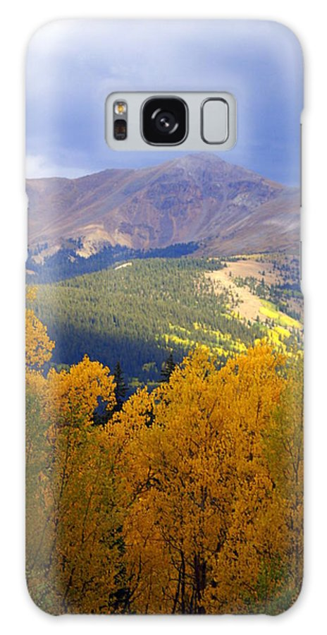 Colorado Galaxy S8 Case featuring the photograph Mountain Fall by Marty Koch