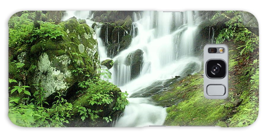 Waterfalls Galaxy S8 Case featuring the photograph Mountain Falls by Marty Koch