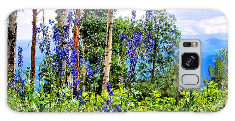 Mountain Galaxy S8 Case featuring the photograph Mountain Meadow by Kristin Elmquist