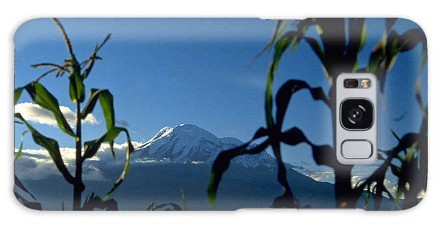 Mountain Galaxy Case featuring the photograph Mountain by Michael Mogensen