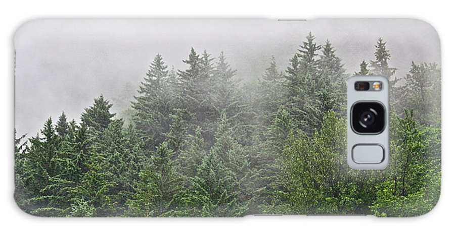 Trees Galaxy S8 Case featuring the photograph Mountain Mist by Diana Hatcher