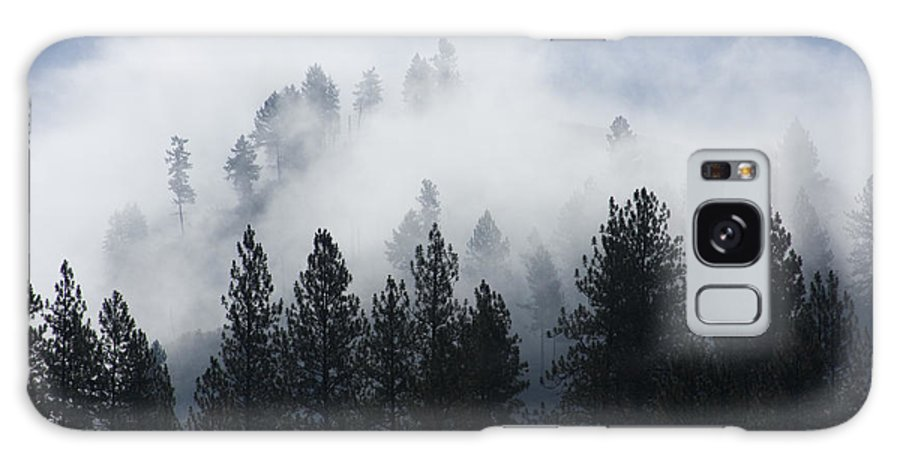 Fog Galaxy S8 Case featuring the photograph Mountain Mist by Idaho Scenic Images Linda Lantzy