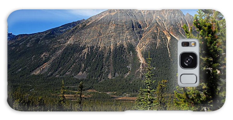 Jasper National Park Galaxy S8 Case featuring the photograph Mountain View 2 by Larry Ricker