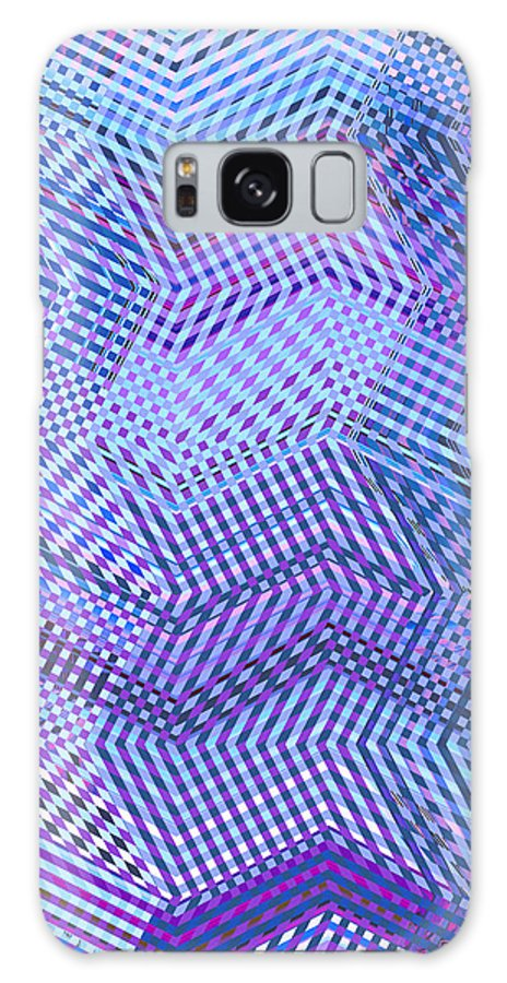Moveonart Digital Gallery San Francisco California Lower Nob Hill Jacob Kane Kanduch Galaxy S8 Case featuring the digital art Moveonart New Patterns 2 by Jacob Kanduch