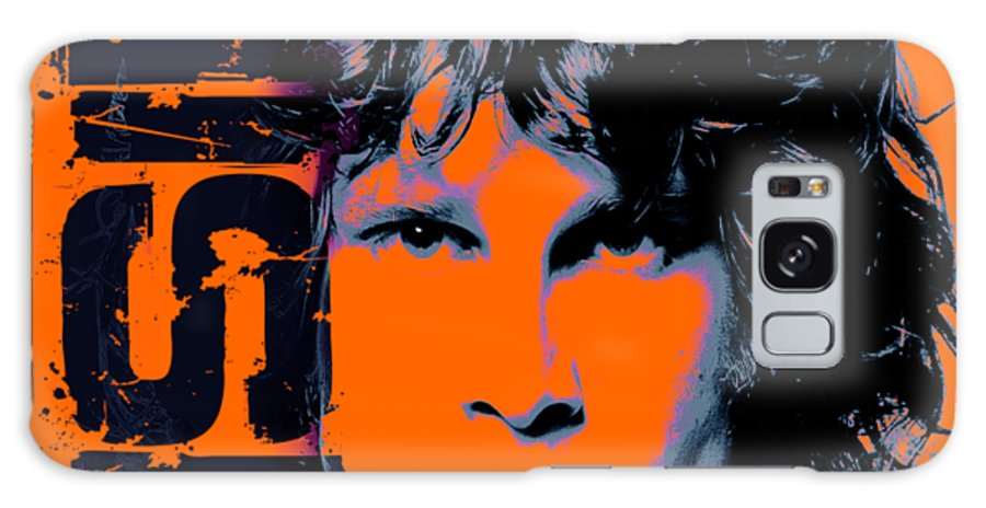 The Doors Galaxy Case featuring the digital art Mr Mojo Risin by Mal Bray