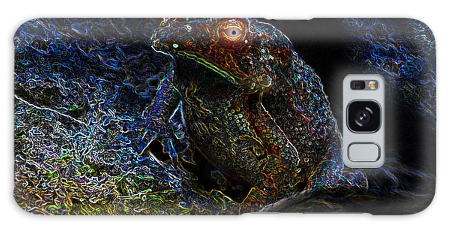 Art Galaxy S8 Case featuring the painting Mr Toads Wild Eyes by David Lee Thompson
