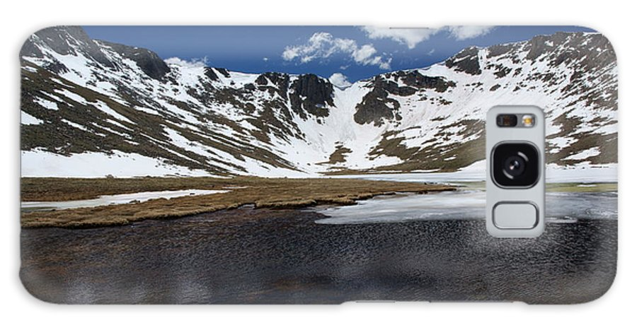 Mountain Lake Galaxy S8 Case featuring the photograph Mt Evans by David Pettit