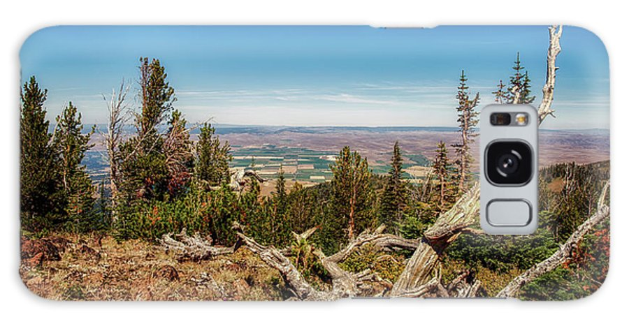 Galaxy S8 Case featuring the photograph Mt. Howard, Wallowa Lake by Marcia Darby
