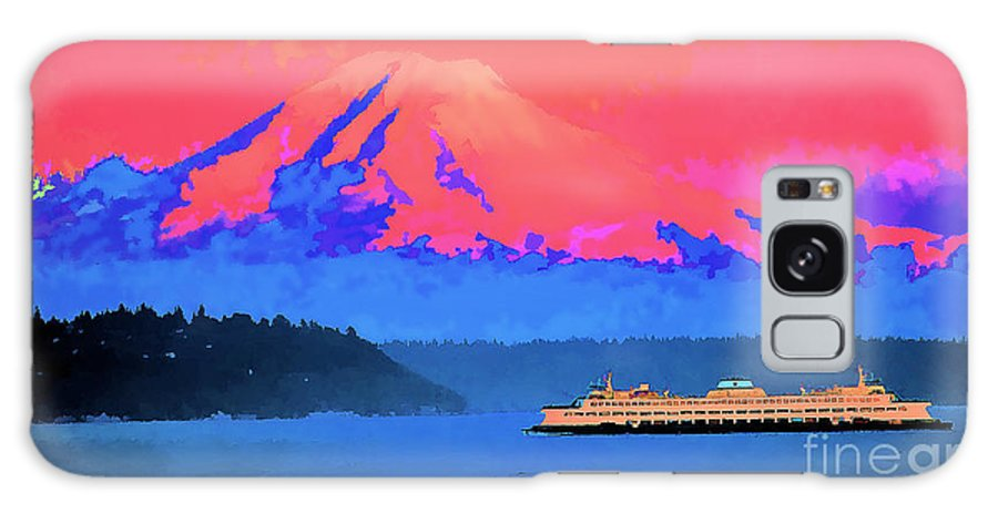 Mount Rainier Mt Rainer Mount Rainier Mt Rainer Mount Rainier Mt Rainer Mount Rainier Mt Rainer Mount Rainer Puget Sound Ferry View Abstract Painting Seattle Washington Coast Sea Ocean Water Volcano Mount Rainer Puget Rainer Puget Sound Ferry View Abstract Painting Seattle Washington Coast Sea Ocean Water Volcano Mount Rainer Puget Sound Ferry View Abstract Painting Seattle Washington Coast Sea Ocean Water Volcano Mount Rainer Puget Sound Ferry View Abstract Painting Seattle Washington Coast Sea Galaxy S8 Case featuring the painting Mt. Rainier by RJ Aguilar