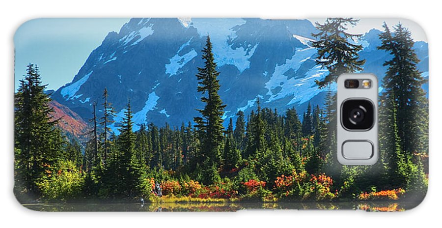Mt. Shuksan Galaxy S8 Case featuring the photograph Mt. Shuksan by Idaho Scenic Images Linda Lantzy
