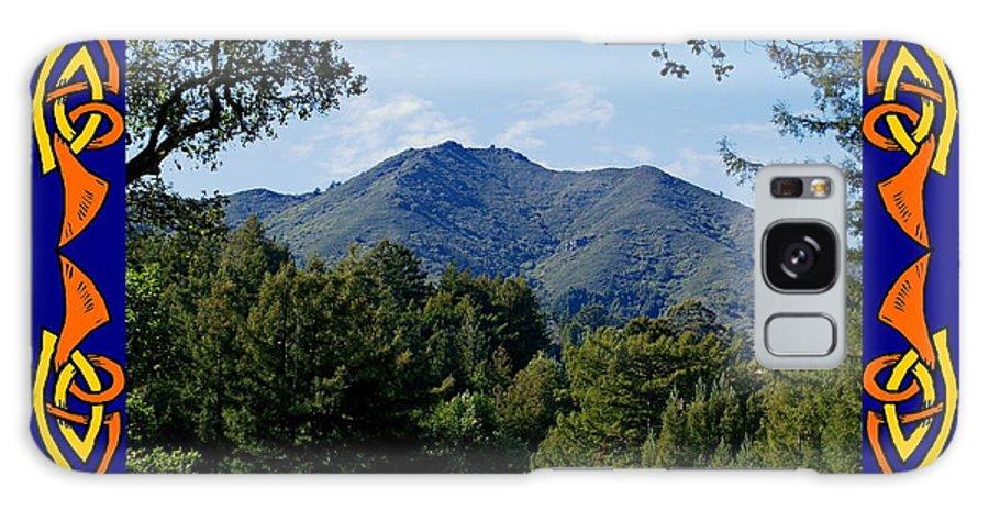 Mount Tamalpais Galaxy S8 Case featuring the photograph Mt Tamalpais Framed 2 by Ben Upham III