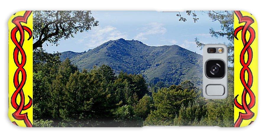 Mount Tamalpais Galaxy S8 Case featuring the photograph Mt Tamalpais Framed 4 by Ben Upham III