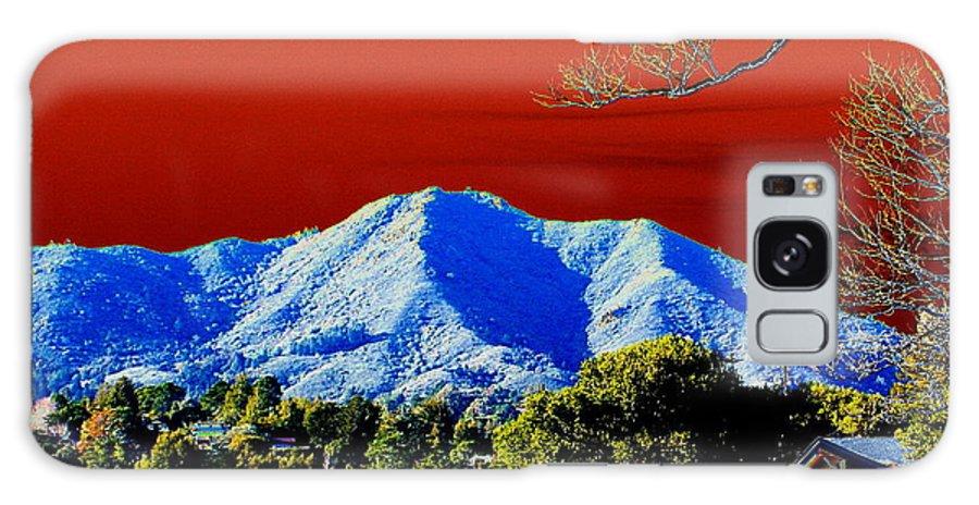 Mount Tamalpais Galaxy S8 Case featuring the photograph Mt Tamalpais From Another World by Ben Upham III