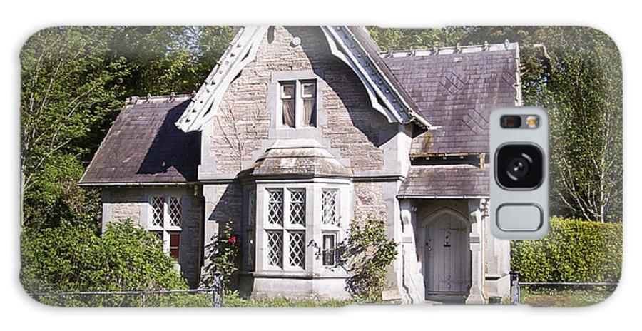 Irish Galaxy Case featuring the photograph Muckross Cottage Killarney Ireland by Teresa Mucha