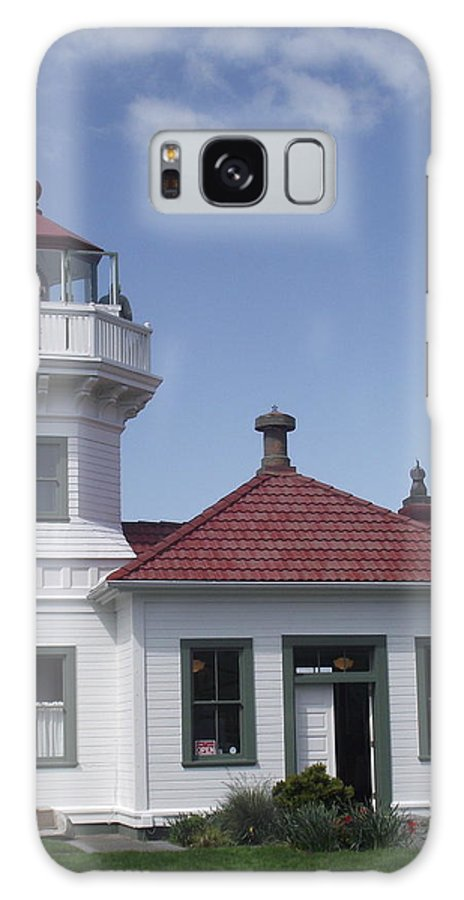 Lighthouse Galaxy S8 Case featuring the photograph Mukilteo Lighthouse by Diane Songstad