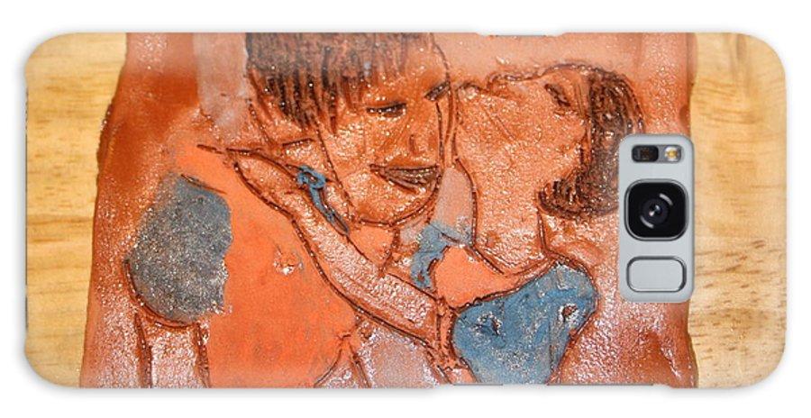 Jesus Galaxy S8 Case featuring the ceramic art Mum 5 - Tile by Gloria Ssali