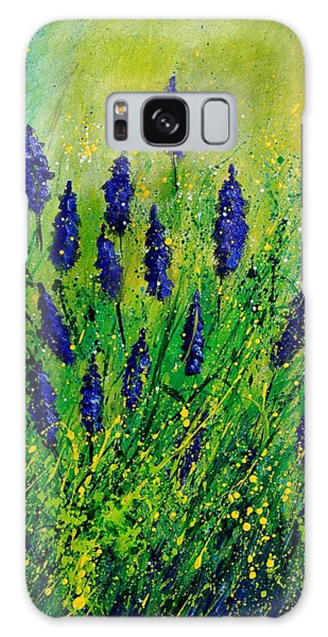 Flowers Galaxy S8 Case featuring the painting Muscaris 4590 by Pol Ledent