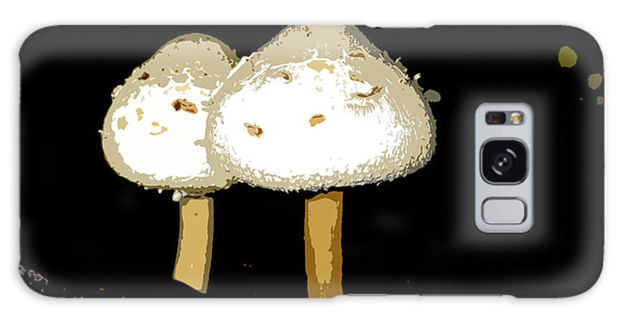 Mushrooms Galaxy S8 Case featuring the photograph Mushrooms For Two Work Number 11 by David Lee Thompson