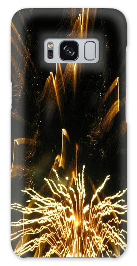 Fireworks Galaxy S8 Case featuring the photograph Music To My Eyes by Rhonda Barrett