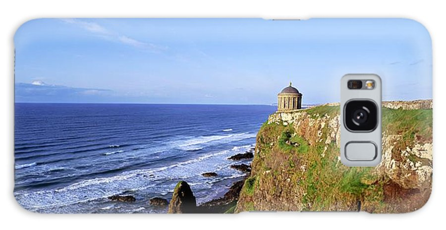 Architecture Galaxy S8 Case featuring the photograph Mussenden Temple, Portstewart, Co by The Irish Image Collection