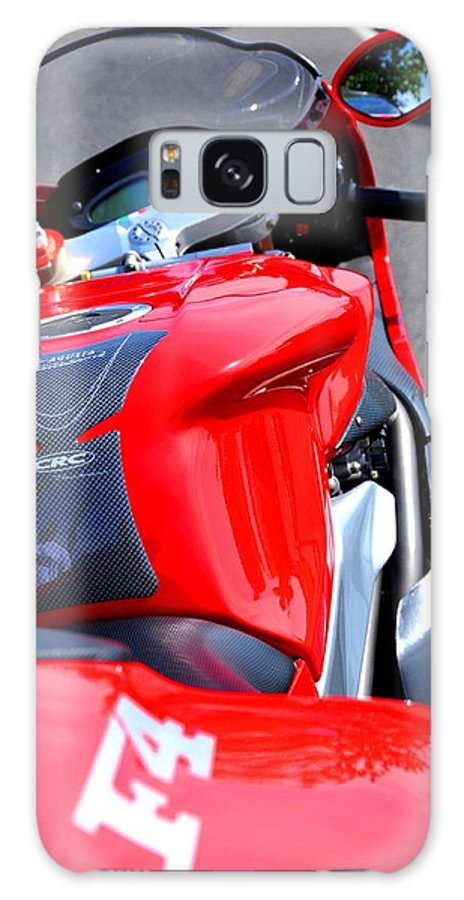 Motorcycles Galaxy S8 Case featuring the photograph Mv Agusta - Color by Noah Cole