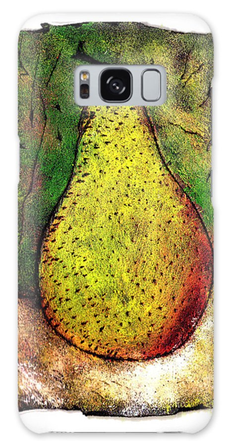 Pear Galaxy S8 Case featuring the painting My Favorite Pear One by Wayne Potrafka