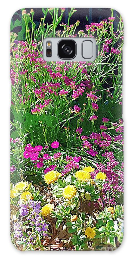 Gardens Galaxy S8 Case featuring the photograph My Garden  by Donna Bentley