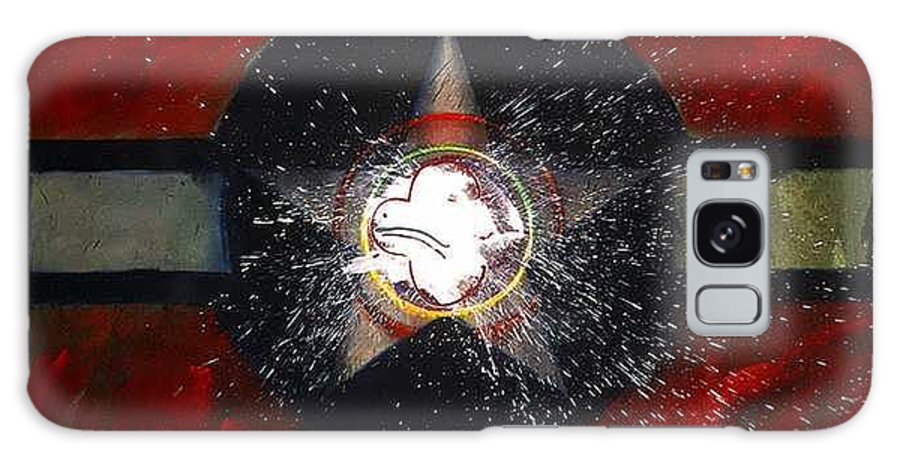 Usaaf Insignia Galaxy S8 Case featuring the painting My Indian Red by Charles Stuart