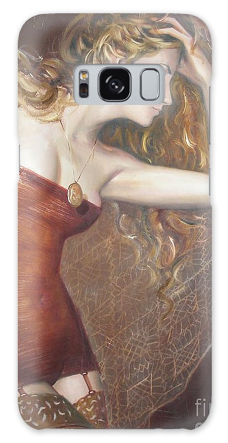 Ignatenko Galaxy S8 Case featuring the painting My Talisman by Sergey Ignatenko