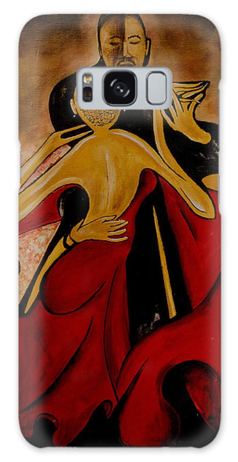 Dance Galaxy S8 Case featuring the painting My Treet by Anthony Hurt
